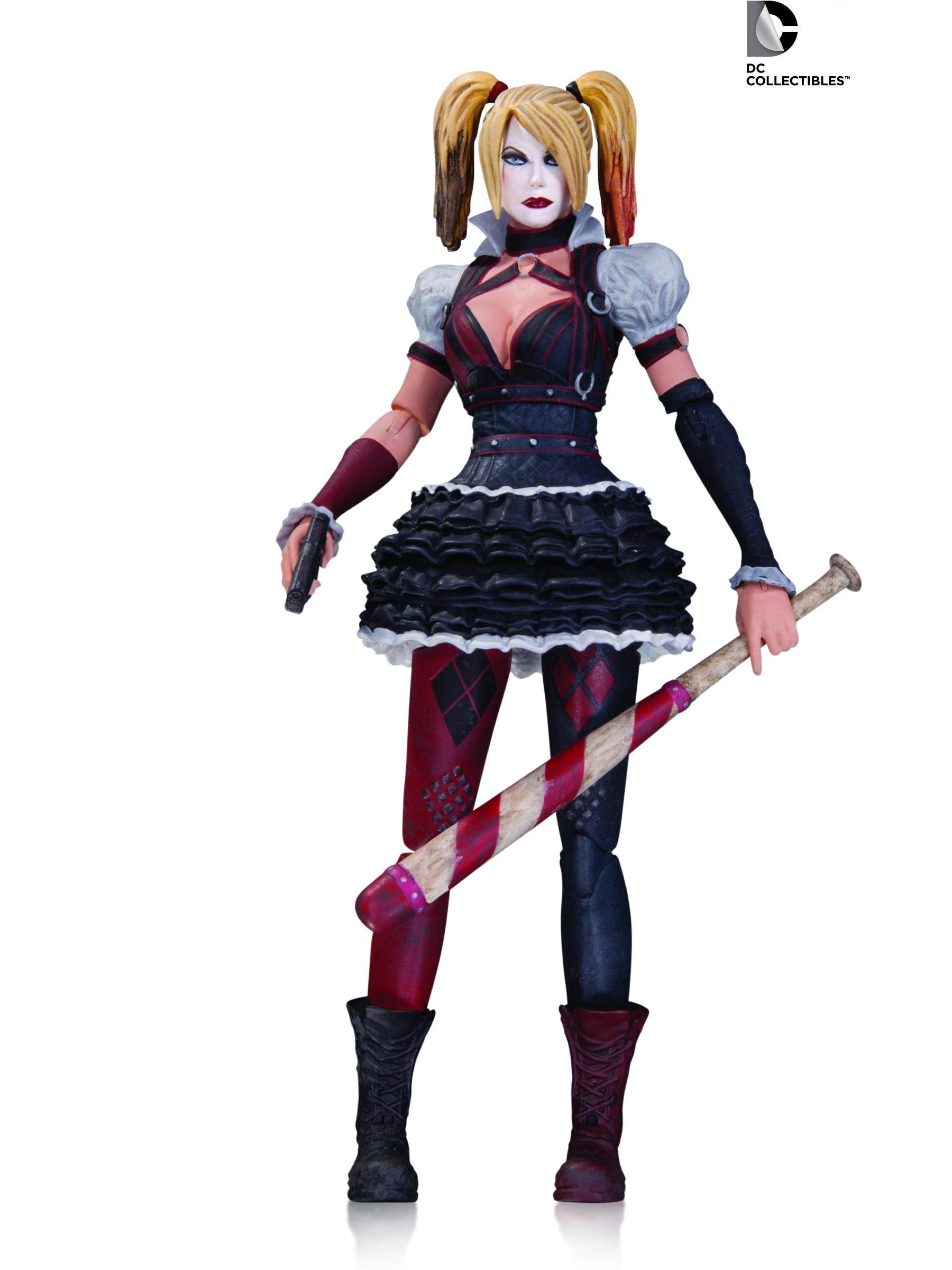 DC Comics Batman Arkham Knight Harley Quinn Figure